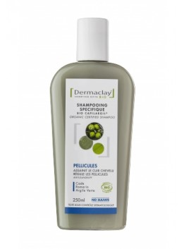 Shampooing pellicules 250ml dermaclay