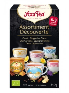 Finest selection 9 x 2 sachets yogi tea bio*
