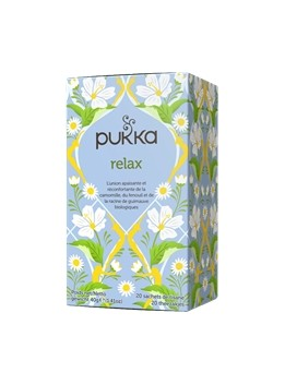 Infusion  relax  x20 pukka