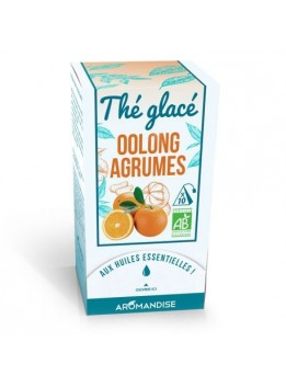 The glace bio oolong agrumes 30gr aromandise