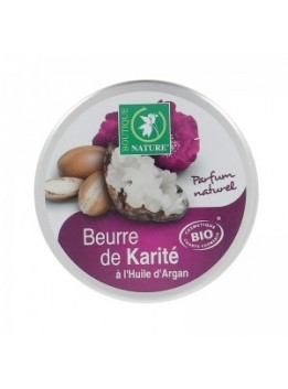 Beurre karite  argan bio 100ml boutique nature