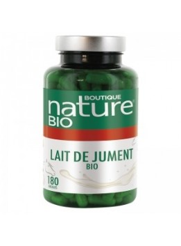 Lait jument 180 gel. boutique nature