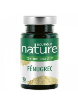 Fenugrec 90 gelules boutique nature