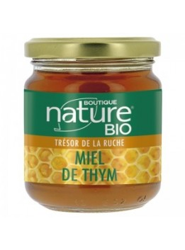 Miel de thym 250g boutique nature bio*