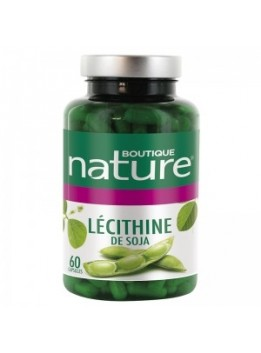 Lecithine soja 60caps. boutique nature