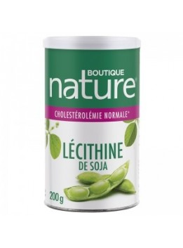 Lecithine soja 200gr boutique nature