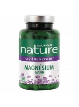 Magnesium marin 180 comp boutique nature